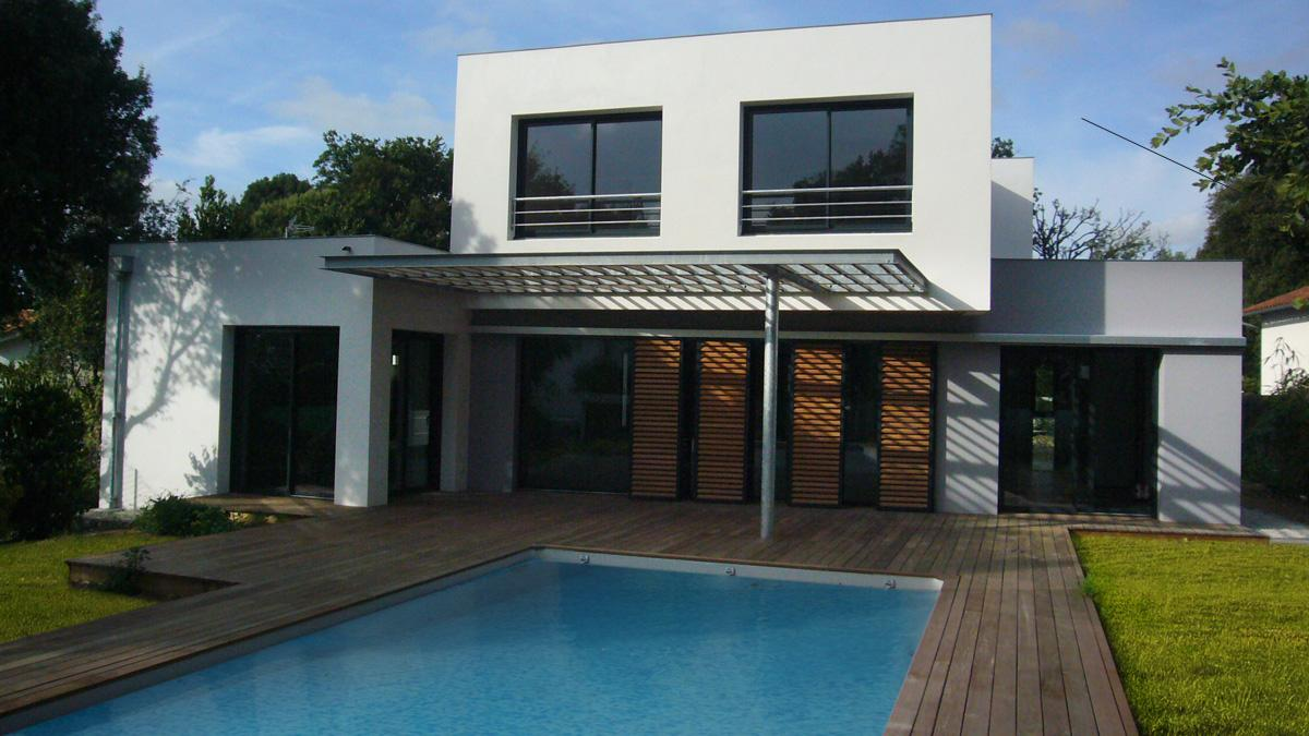 Projets architecte construction renovation villas popea for Cout construction villa